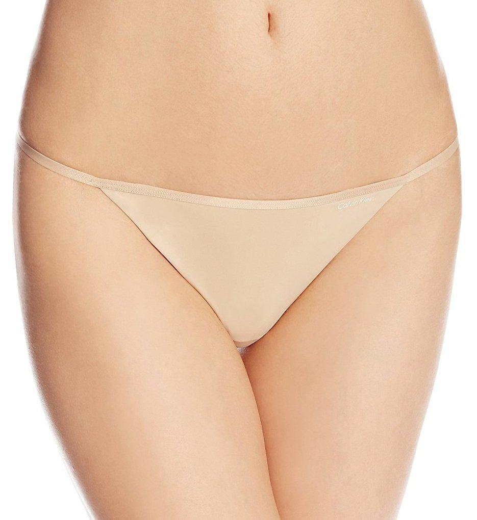 Calvin Klein >> Calvin Klein D3509 Sleek Thong (Bare S)