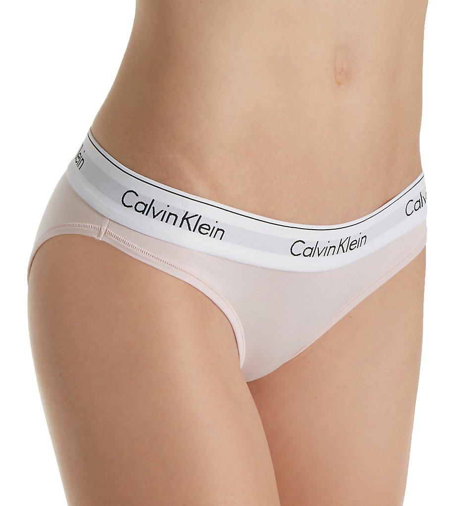 Calvin Klein - Calvin Klein F3787 Modern Cotton Bikini Panty (Nymph's Thigh XS)