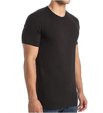 Calvin Klein Cotton Stretch Classic Crew Neck T-Shirt - 2 Pack