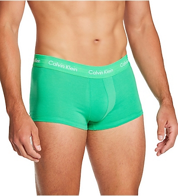 Calvin Klein Pride Cotton Stretch Low Rise Trunks - 5 Pack
