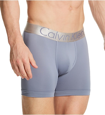 Calvin Klein Steel Micro Boxer Briefs - 3 Pack