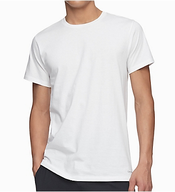 Calvin Klein Big & Tall Cotton Crew T-Shirt - 3 Pack