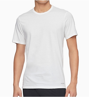 Calvin Klein Cotton Classics Slim Fit Crew T-Shirts - 3 Pack