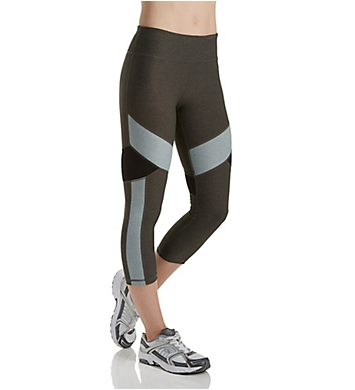 Calvin Klein Performance Colorblocked Compression Crop Legging