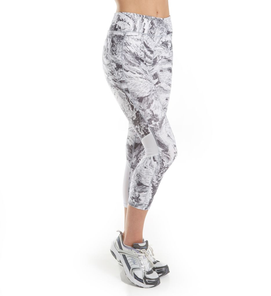 Calvin Klein Performance Midtown Print High Waist Crop Legging