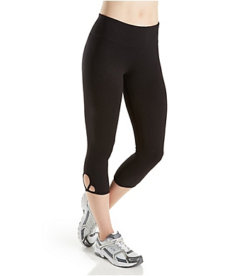 Calvin Klein Performance Clover Leaf Crop Jersey Legging