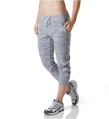 Calvin Klein Performance Rib Side Detail Crop Jogger