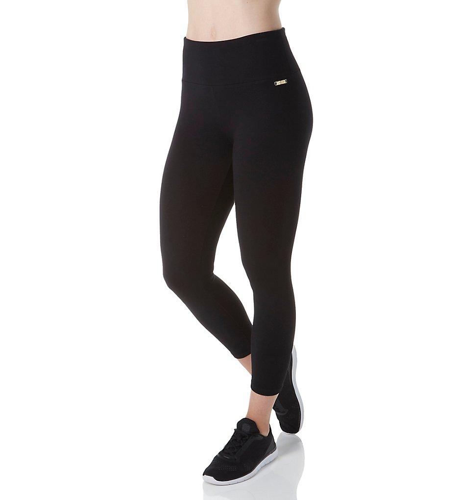 Calvin Klein PF7P918 Technoroma Control Waistband Capri Legging (Black)