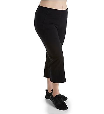 Calvin Klein Plus Size High Waist Crop Jersey Pant