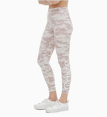 Calvin Klein Camo Print High Waist 7/8 Legging
