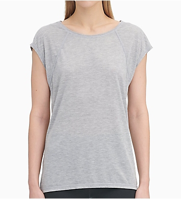 Calvin Klein Cap Sleeve Tee with Strappy Back