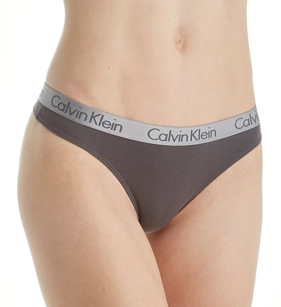 Calvin Klein QD3539 Radiant Cotton Thong
