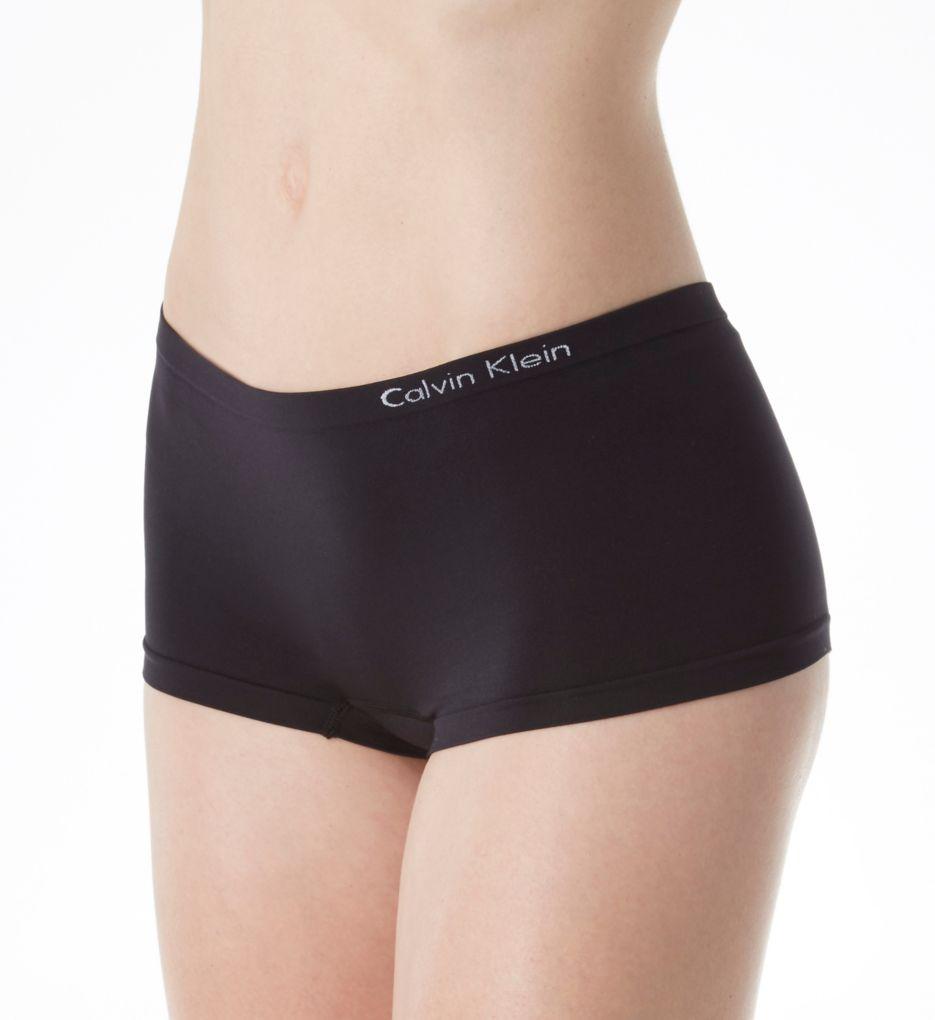 Calvin Klein Pure Seamless Boyshort Panty - 3 Pack
