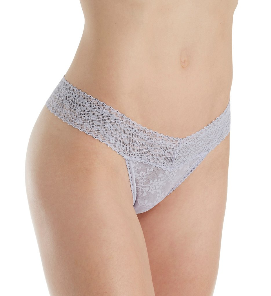 Calvin Klein - Calvin Klein QD3596 Bare Lace Thong Panty (Bliss M)