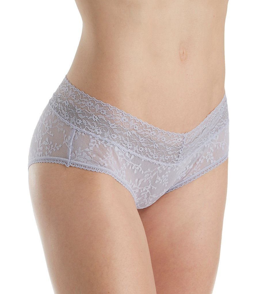 Calvin Klein : Calvin Klein QD3597 Bare Lace Hipster Panty (Bliss S)