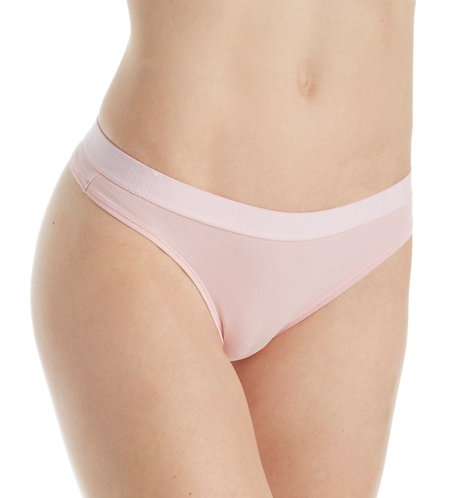 Calvin Klein : Calvin Klein QD3636 Ultimate Cotton Thong (Attract M)
