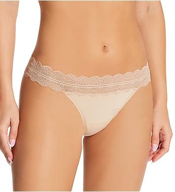 Calvin Klein Lace Trim Thong Panty