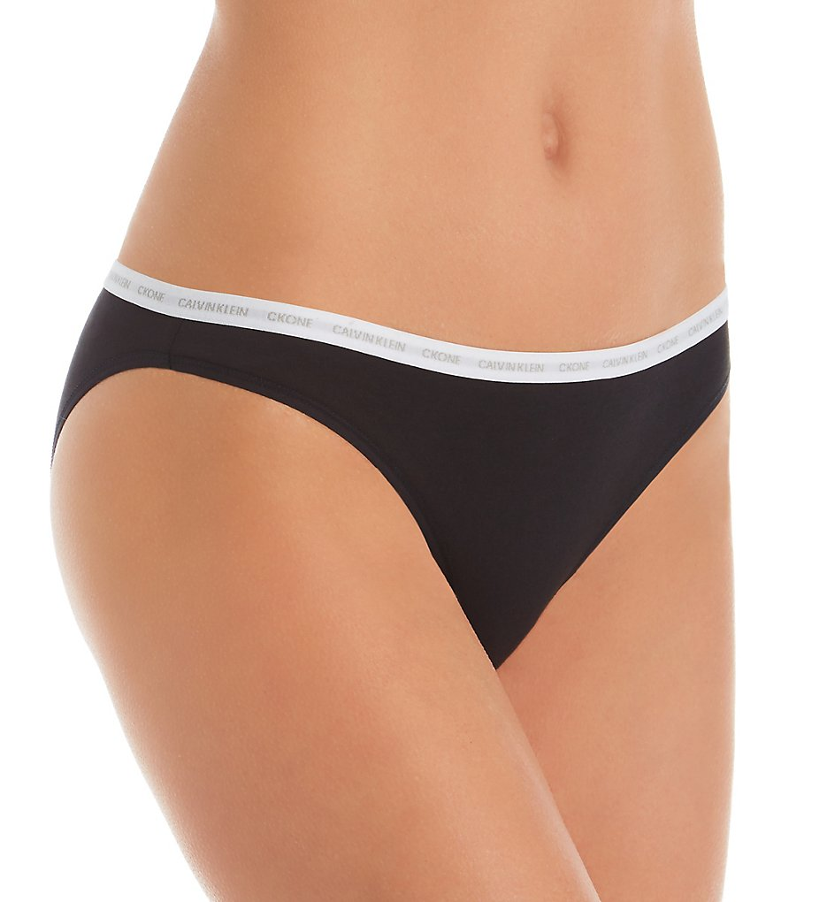 Calvin Klein - Calvin Klein QD3785 CK One Cotton Bikini Panty (Black S)