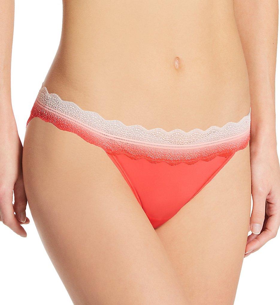 Calvin Klein - Calvin Klein QD3838 Micro Lace Bikini Panty (Strawberry Shake XS)