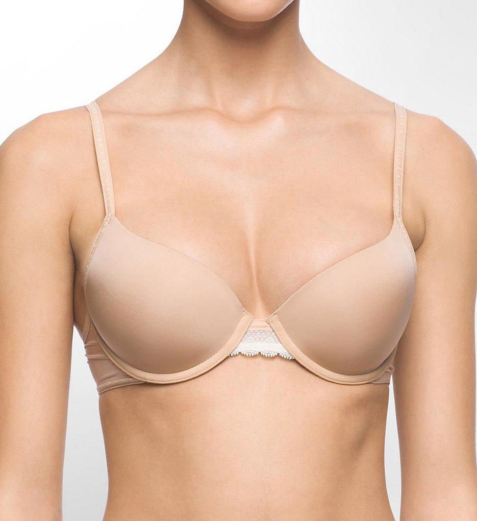Calvin Klein >> Calvin Klein QF1417 Signature Modern T-Shirt Bra (Bare 34D)