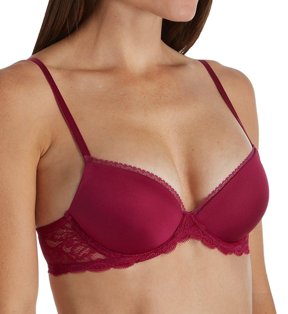 Calvin Klein - Calvin Klein QF1444 Seductive Comfort Lace Demi Lift Multiway Bra (Maggie 32D)