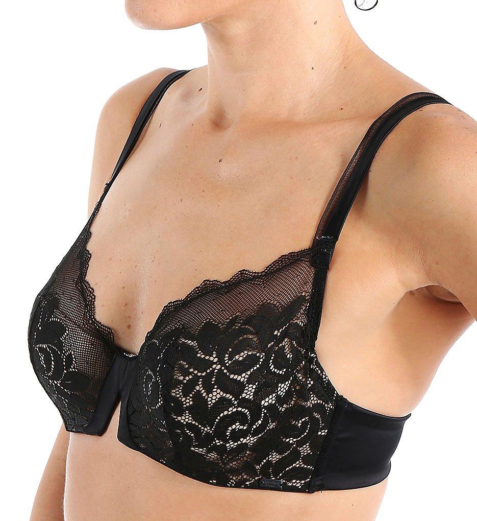 Calvin Klein - Calvin Klein QF1469 Seduce Cut & Sew Lace Balconette Bra (Black 34A)