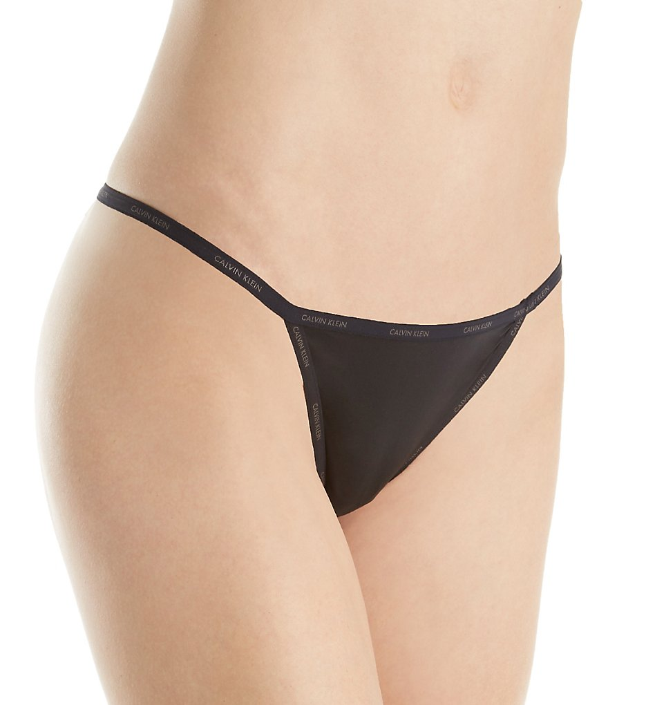Calvin Klein QF1681 Sheer Marquisette String Thong