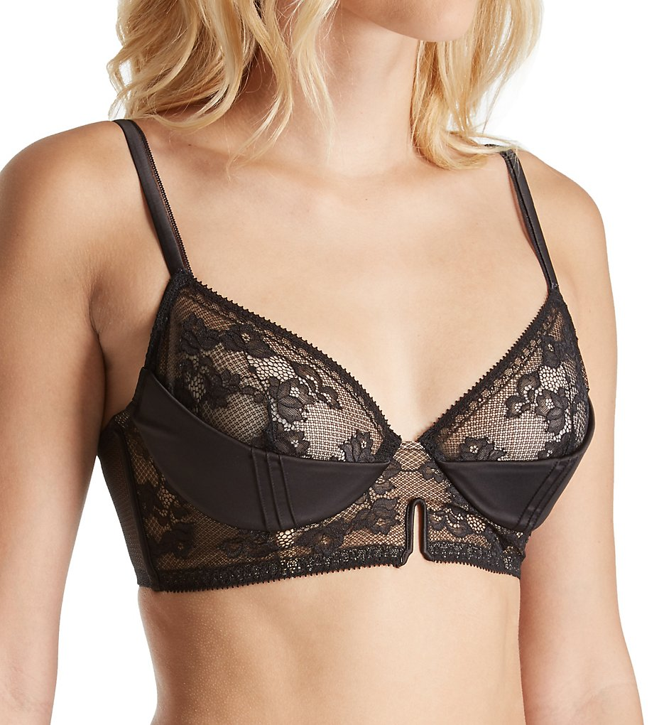 Calvin Klein : Calvin Klein QF1769 Devotion Unlined Demi Bra with Sling (Black 34A)