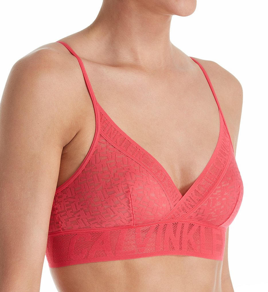 Calvin Klein : Calvin Klein QF1869 Radical Unlined Bralette (Sultry S)