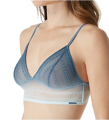 Calvin Klein Ombre Unlined Triangle Bralette