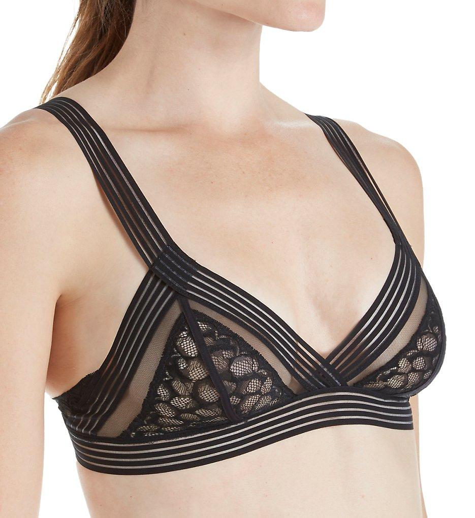 Calvin Klein - Calvin Klein QF3985 Vixen Unlined Triangle Bralette (Black S)