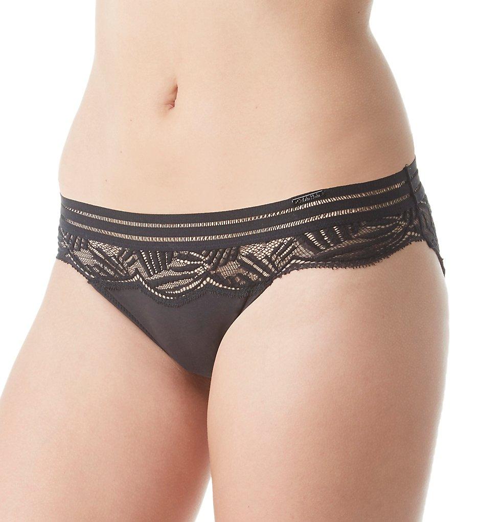 Calvin Klein - Calvin Klein QF4373 Perfectly Fit Firework Lace Bikini Panty (Black S)