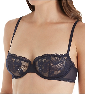 Calvin Klein Bird Lace Unlined Balconette Bra
