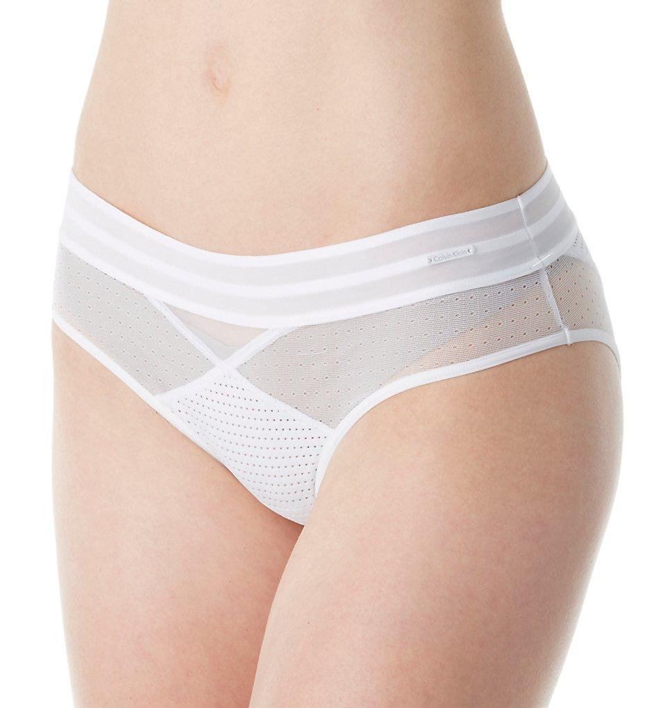 Calvin Klein QF4491 Mixed Mesh Bikini Panty