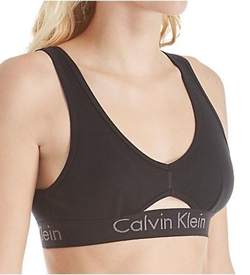 Calvin Klein Body Cotton Unlined Keyhole Bralette