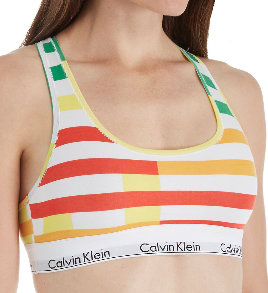 Calvin Klein QF4612 Modern Cotton Unlined Bralette
