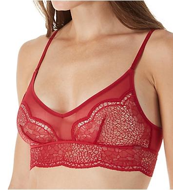 Calvin Klein CK Crackled Lace Unlined Bralette