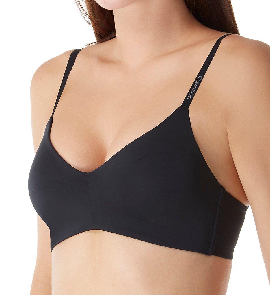 Calvin Klein - Calvin Klein QF4777 Form Triangle Bra (Black 36A)