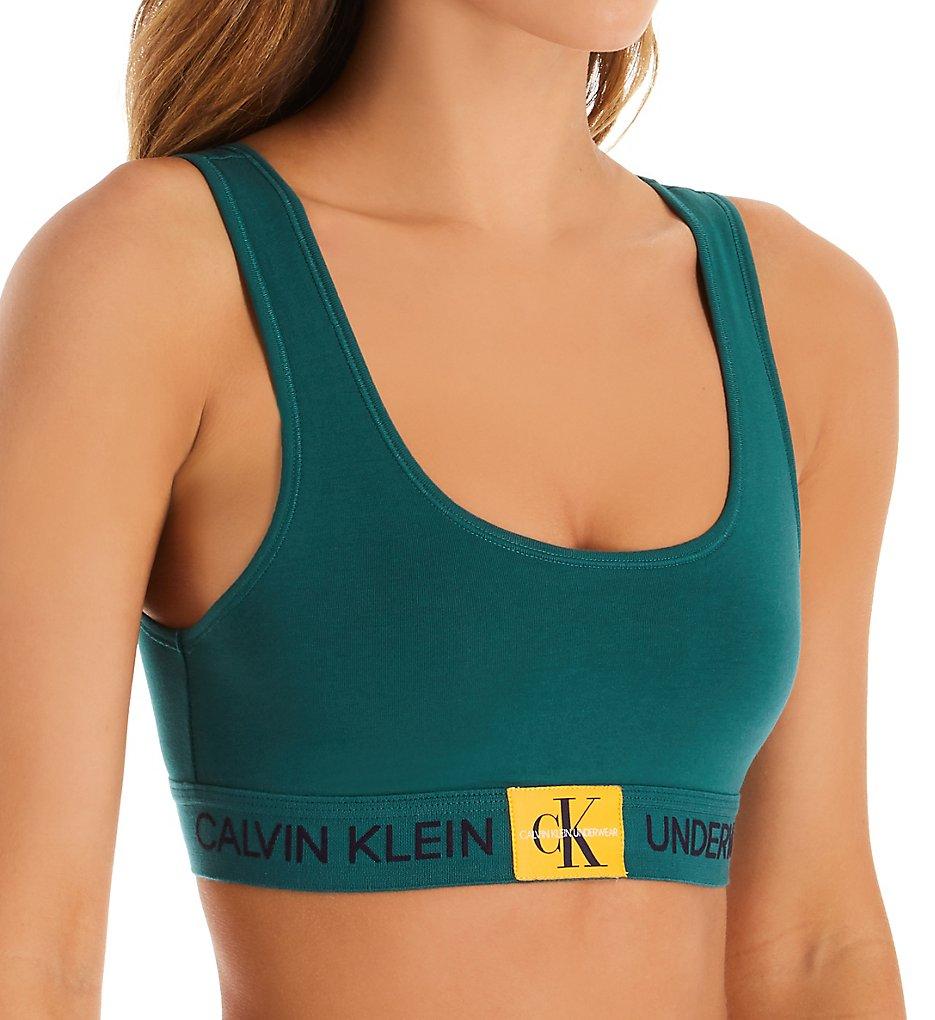 Calvin Klein - Calvin Klein QF4918 Monogram Unlined Bralette (Antithesis S)