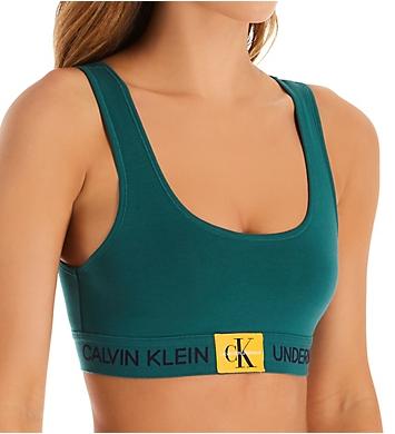 273319bda73651 Calvin Klein Monogram Unlined Bralette QF4918 - Calvin Klein Bras