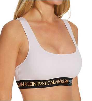 Calvin Klein 1981 Bold Cotton Unlined Bralette