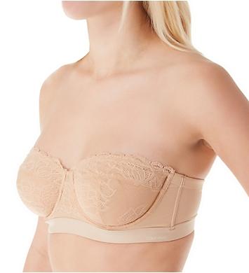 Calvin Klein Seductive Comfort Unlined Strapless Bra