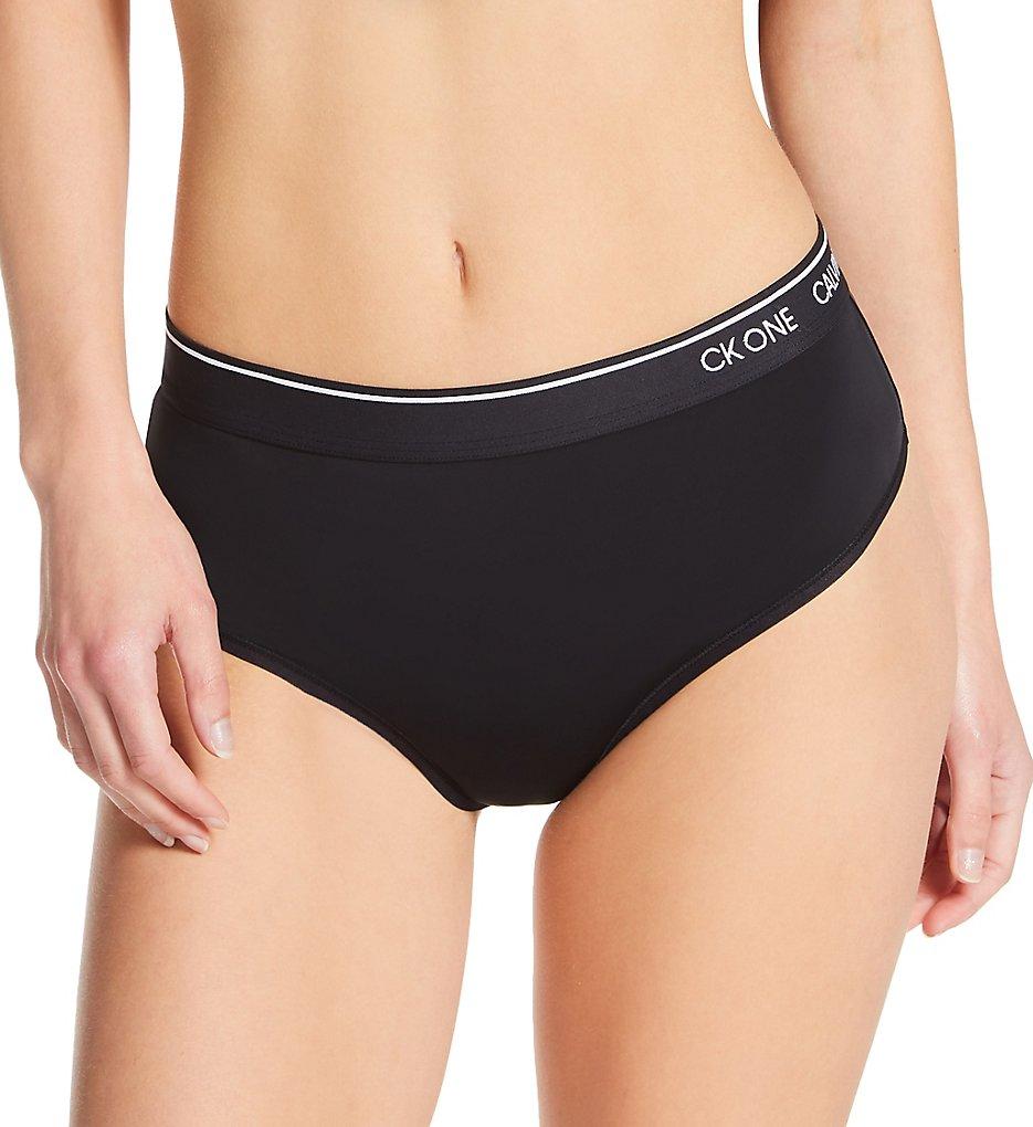 Calvin Klein - Calvin Klein QF5745 CK One Micro High Waist Thong (Black XS)