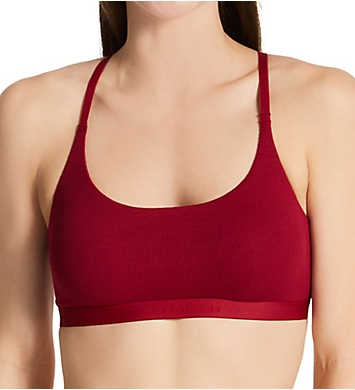 Calvin Klein Pure Ribbed Unlined Bralette