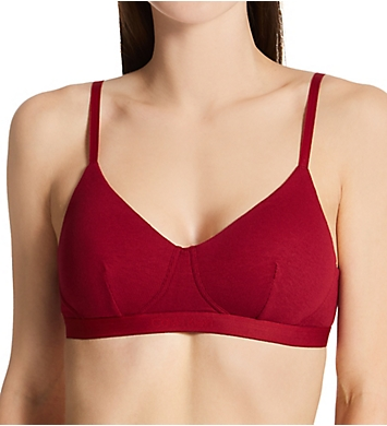 Calvin Klein Pure Ribbed Lightly Lined Bralette