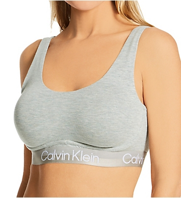 Calvin Klein Structure Cotton Triangle Bralette
