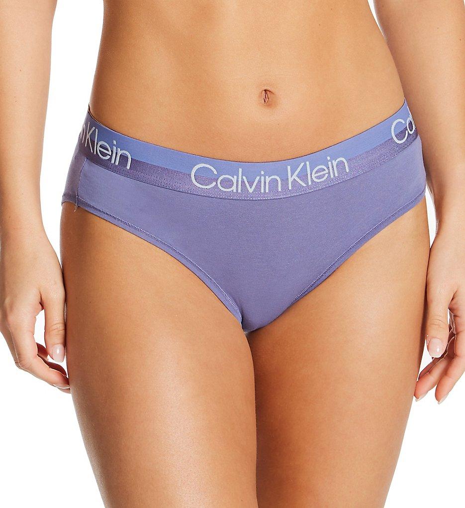 Calvin Klein - Calvin Klein QF6688 Structure Cotton Hipster Panty (Bleached Denim XS)