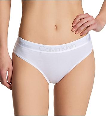 Calvin Klein Structure Cotton High Cut Brazilian Panty