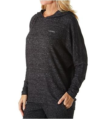 Calvin Klein Sophisticated Jersey Long Sleeve Hoodie