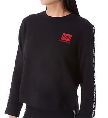Calvin Klein 1981 Bold Lounge Long Sleeve Sweatshirt